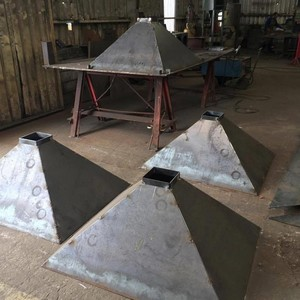 Fabricação de moega