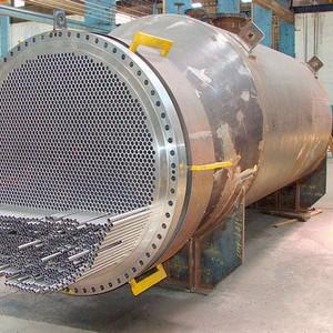Trocador de calor em aço preço