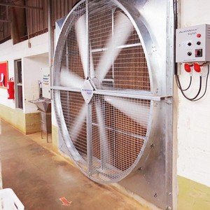 Micro ventilador axial